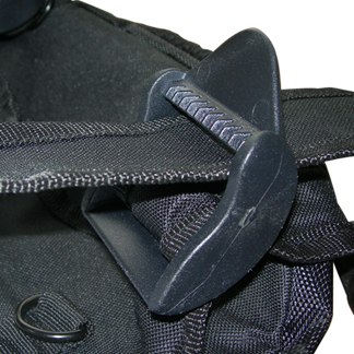 wheelchair bag straps