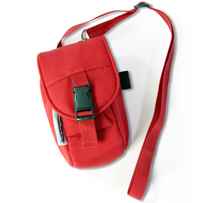 Wheelchair Mini Bag Red full view
