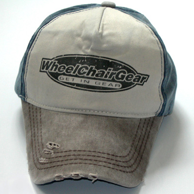Wheelchair Gear hat front view